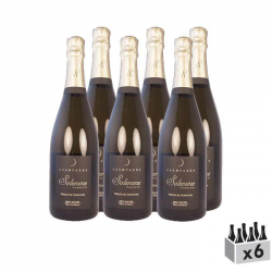 Champagne, Nature de Solemme - Lot de 6x75cl