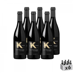 K'Nom, vin rouge bio - Lot de 6x75cl
