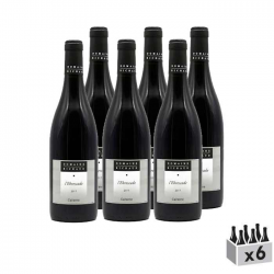 Ebrescade, vin rouge BIO - Lot de 6x75cl