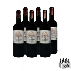 Rouge Coeur - Lot de 6x75cl
