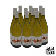 Pierre rousses, Vin blanc 2017 - Lot de 12x75cl